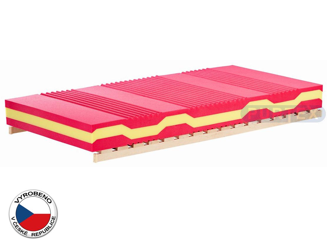 Pěnová matrace - Purtex - Alexis Soft - 195x80 cm (T2). Luxusní, komfortní a vzdušná matrace, působí preventivně proti proleženinám a napomáhá vyrovnávat páteř.