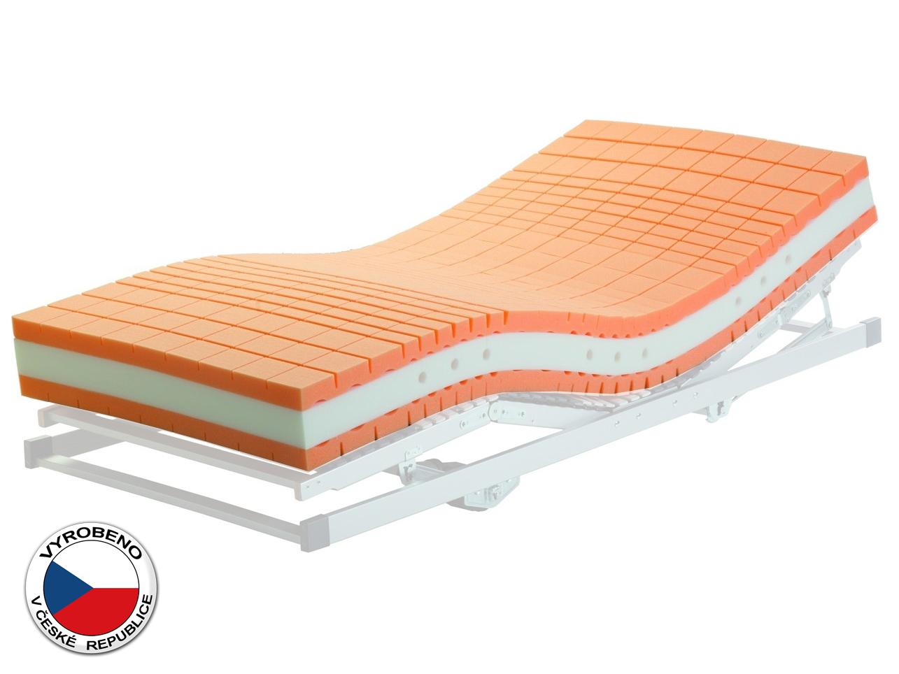 Pěnová matrace - Purtex - Tamara - 200x80 cm (T5). Luxusní a výhodná zdravotní matrace se snímatelným potahem, profilovanou studenou pěnou a zvýšenou nosností.