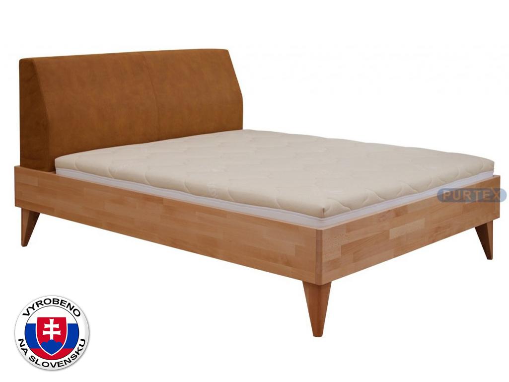 Manželská postel 180 cm - Purtex - Fia (masiv)