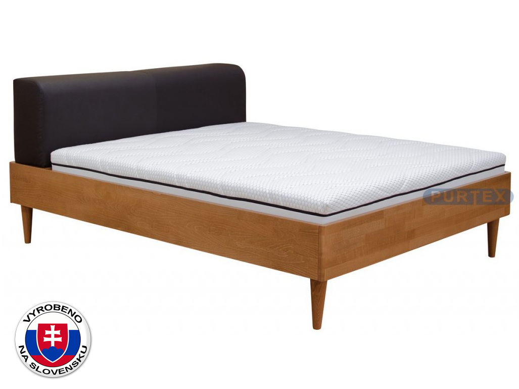 Manželská postel 180 cm - Purtex - Ria (masiv)