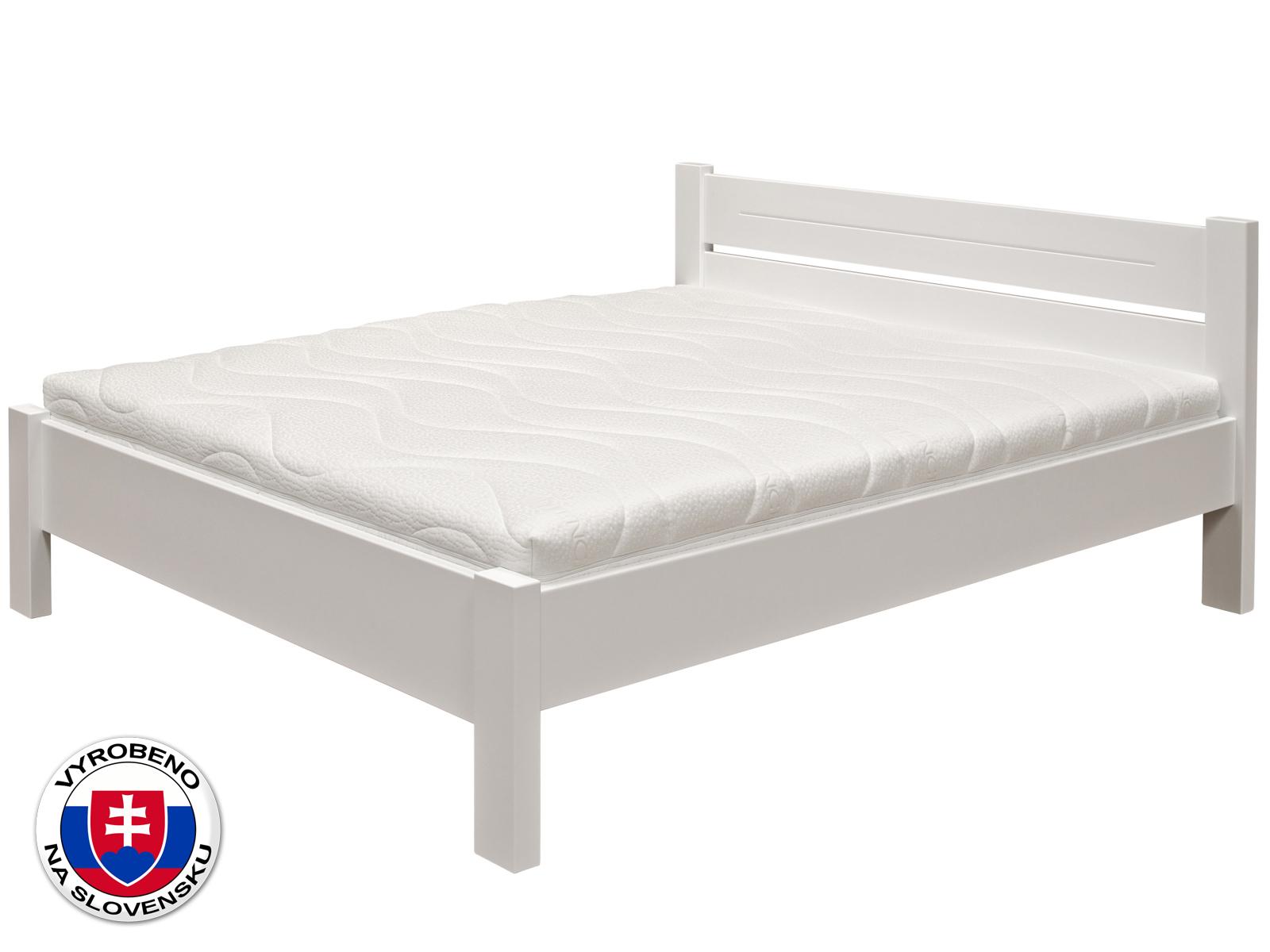 Manželská postel 180 cm - Purtex - Ema (masiv)