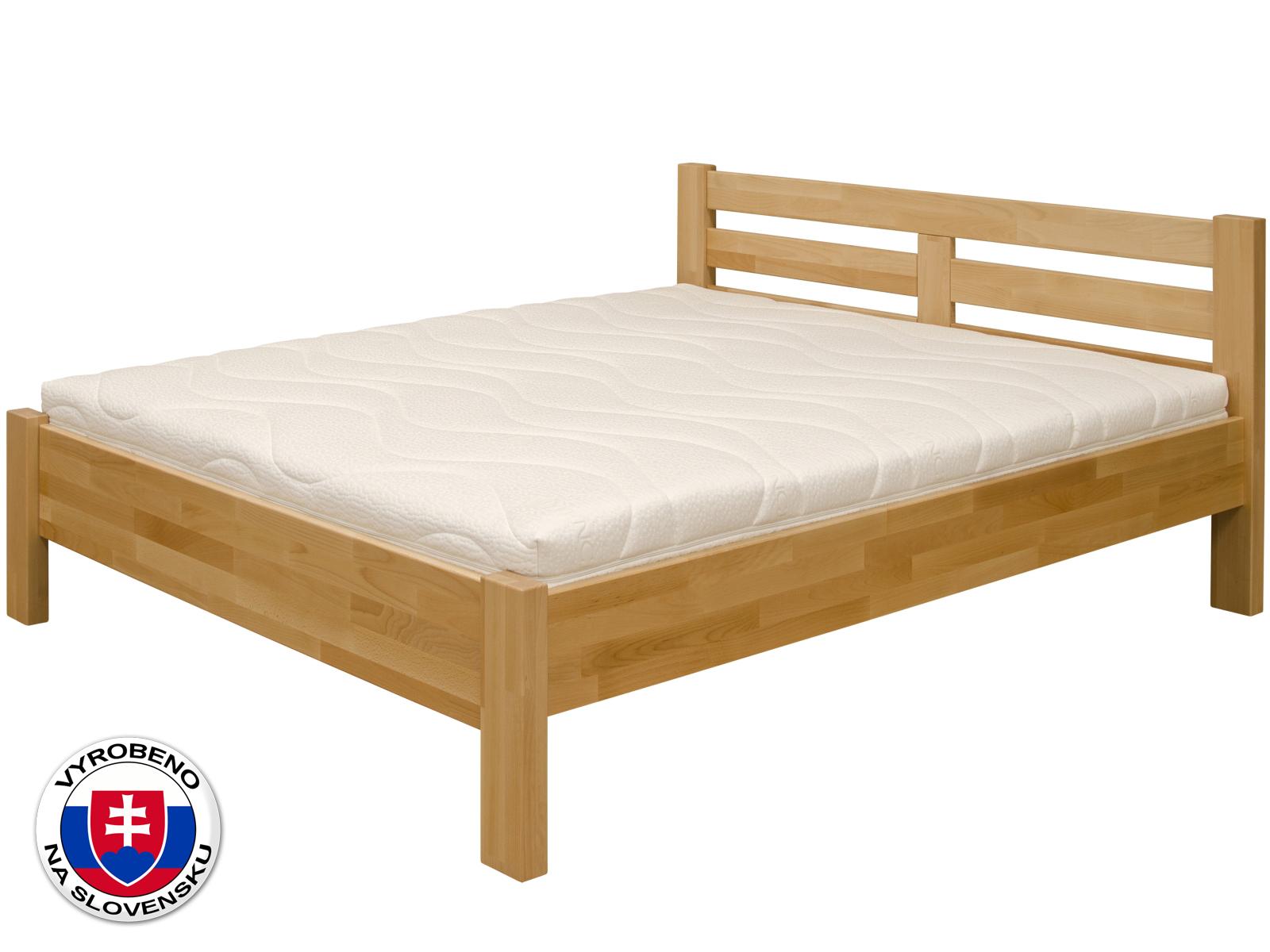 Manželská postel 140 cm - Purtex - Mia (masiv)