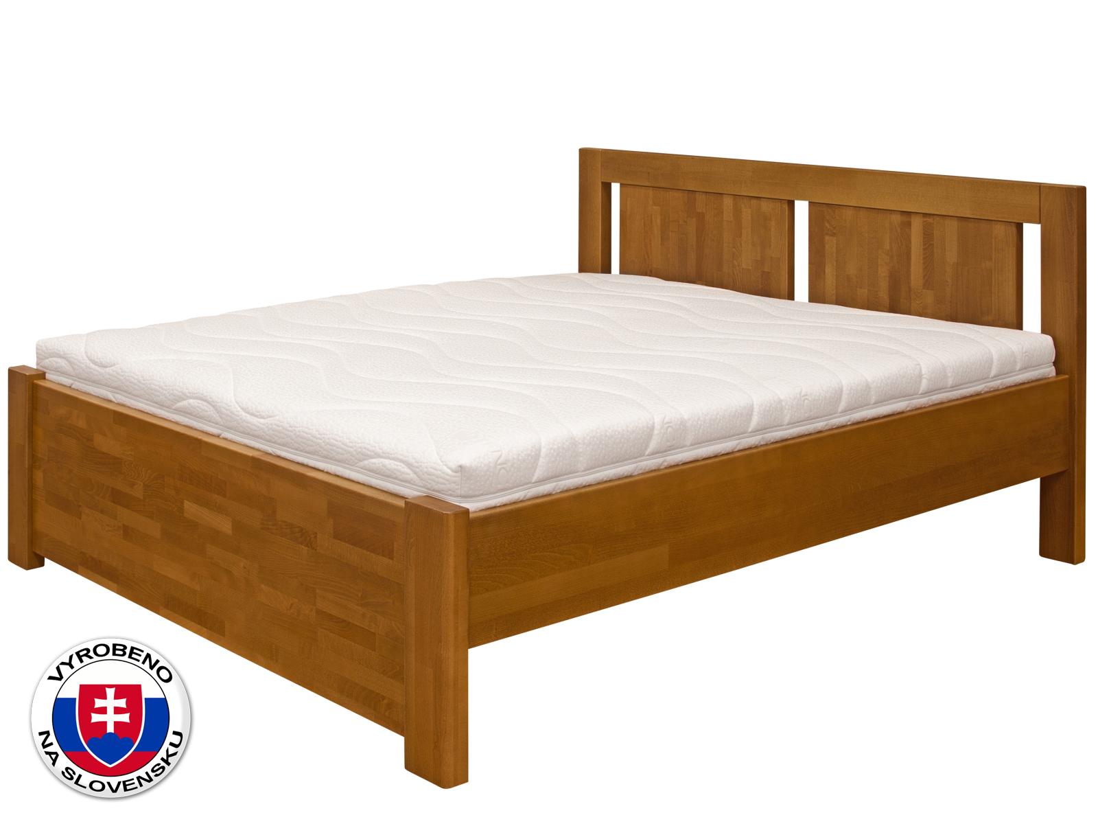 Manželská postel 180 cm - Purtex - Viktoria (masiv)