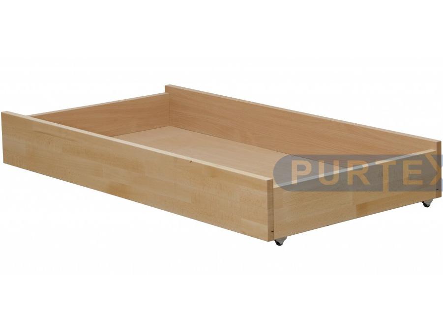Úložný prostor pod postel (zásuvka) - Purtex - 155x80 (masiv)