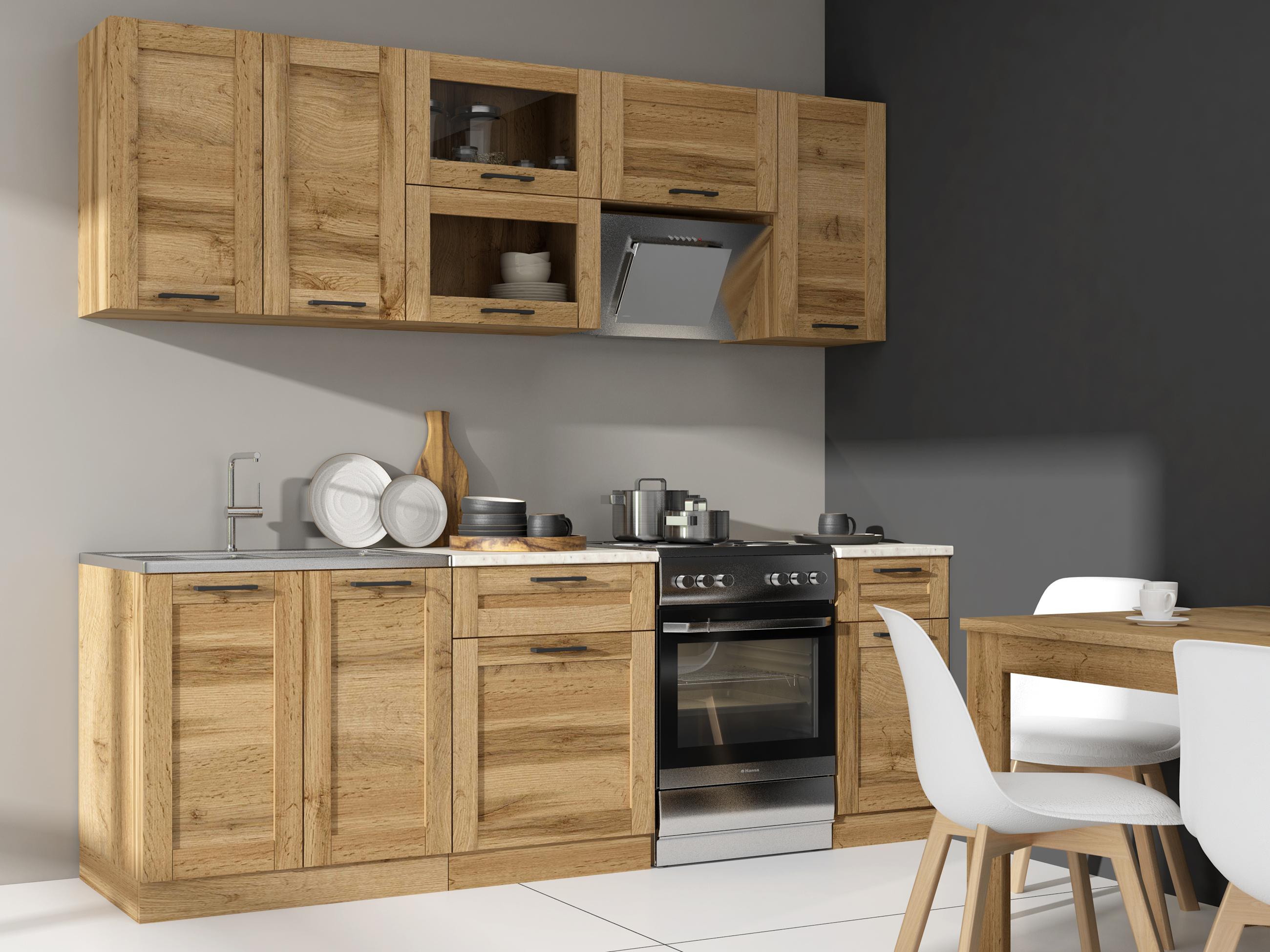 Kuchyně - Renar - Jamajka 240 cm dub wotan