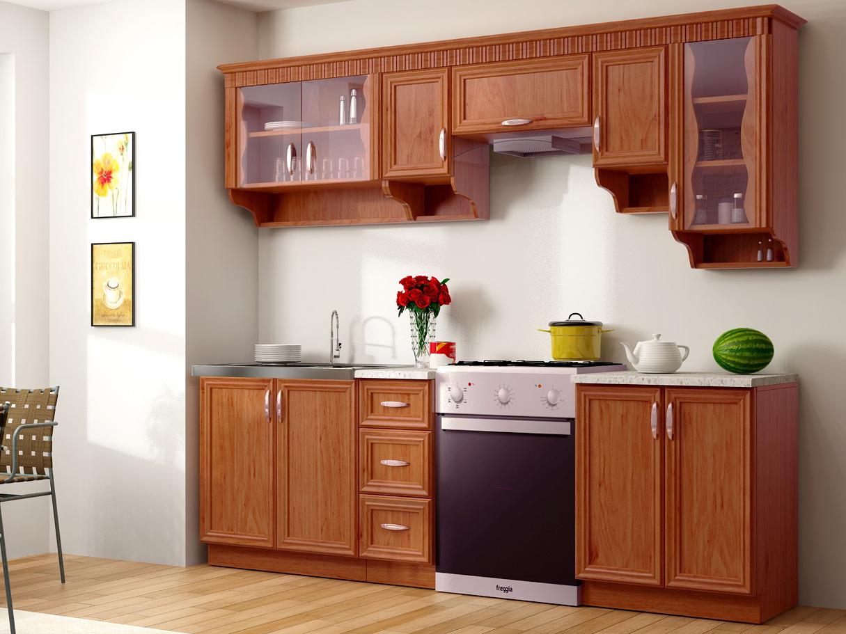 Kuchyně - Renar - Karolina 260 cm dub starý