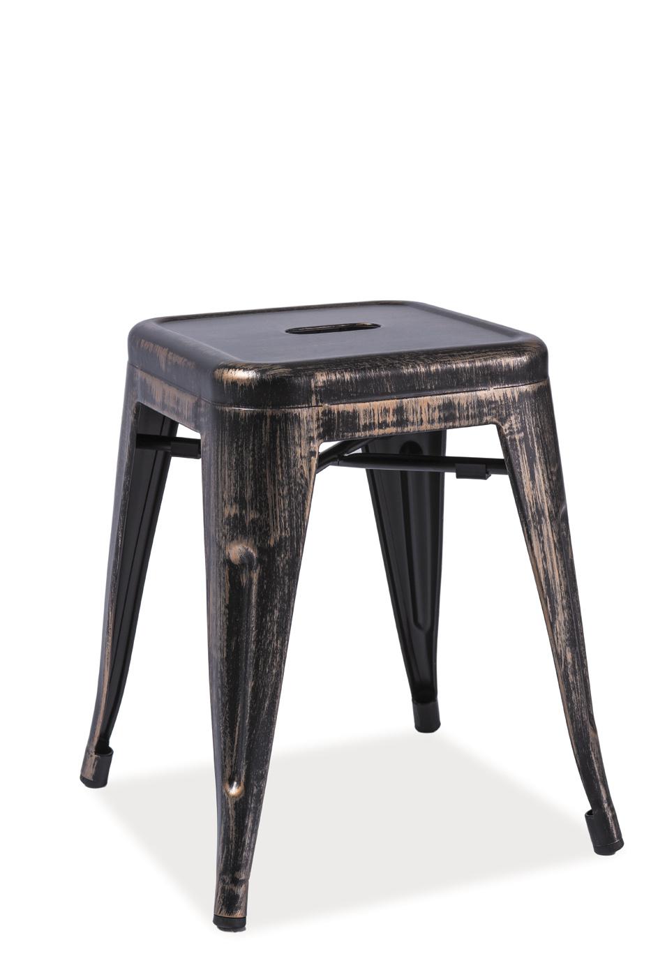 Barová židle - Signal - Spot (černá)