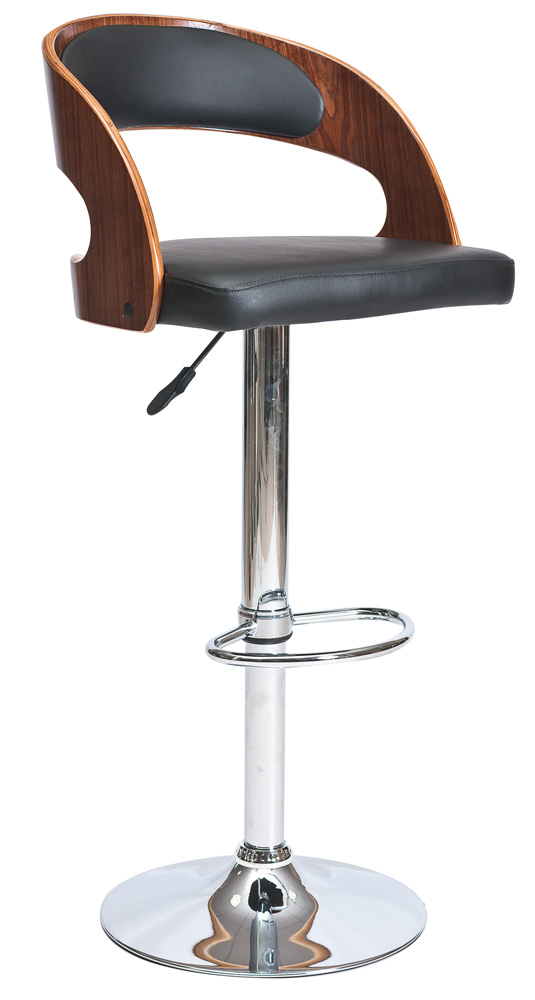Barová židle - Signal - C-091 Krokus ořech