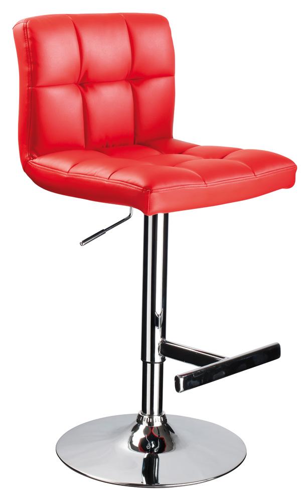 Barová židle - Signal - C-105 Krokus červená
