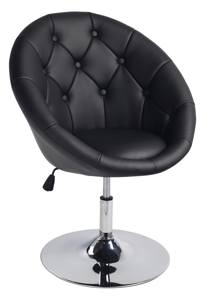 Barová židle - Signal - C-881 Krokus černá