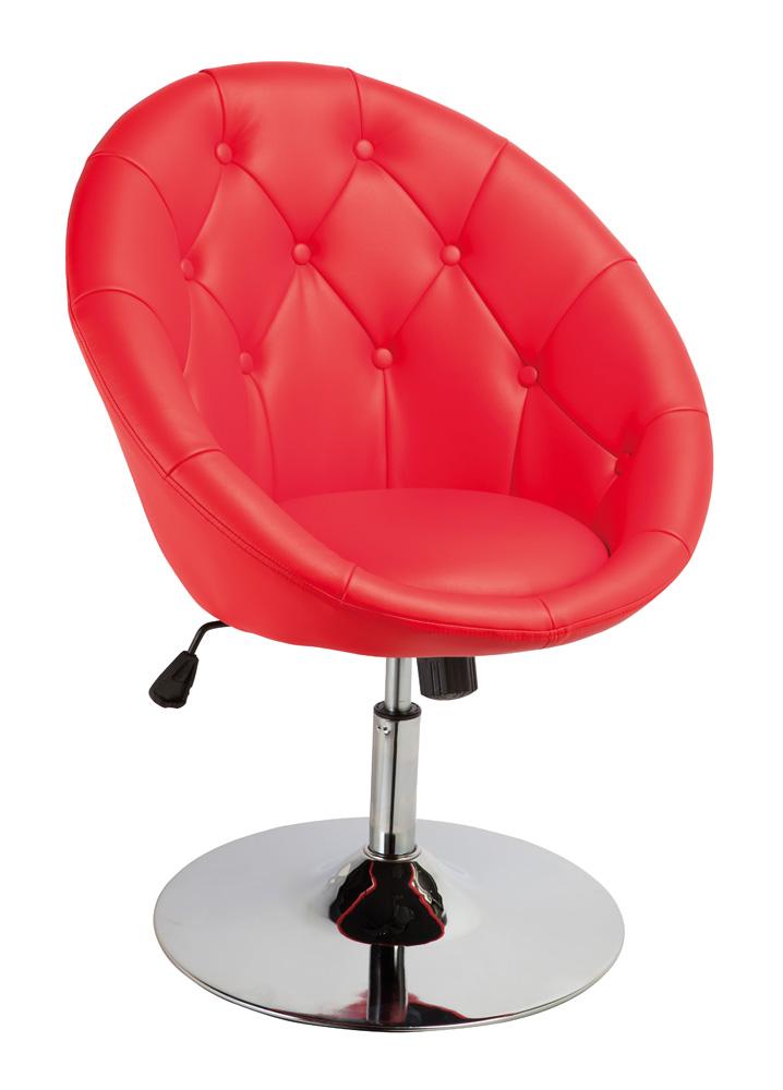 Barová židle - Signal - C-881 Krokus červená