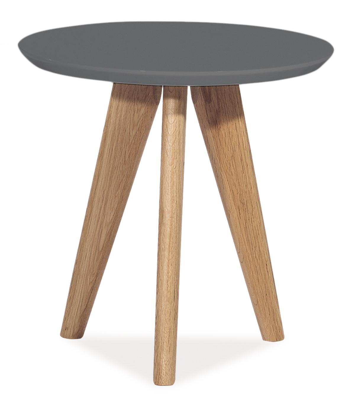 Barový stůl - Signal - Milan S1 (lesk vysoký šedý)