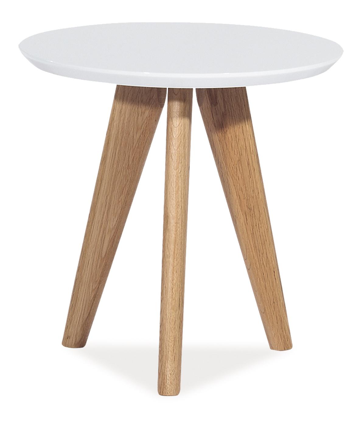 Barový stůl - Signal - Milan S1 (bílá)