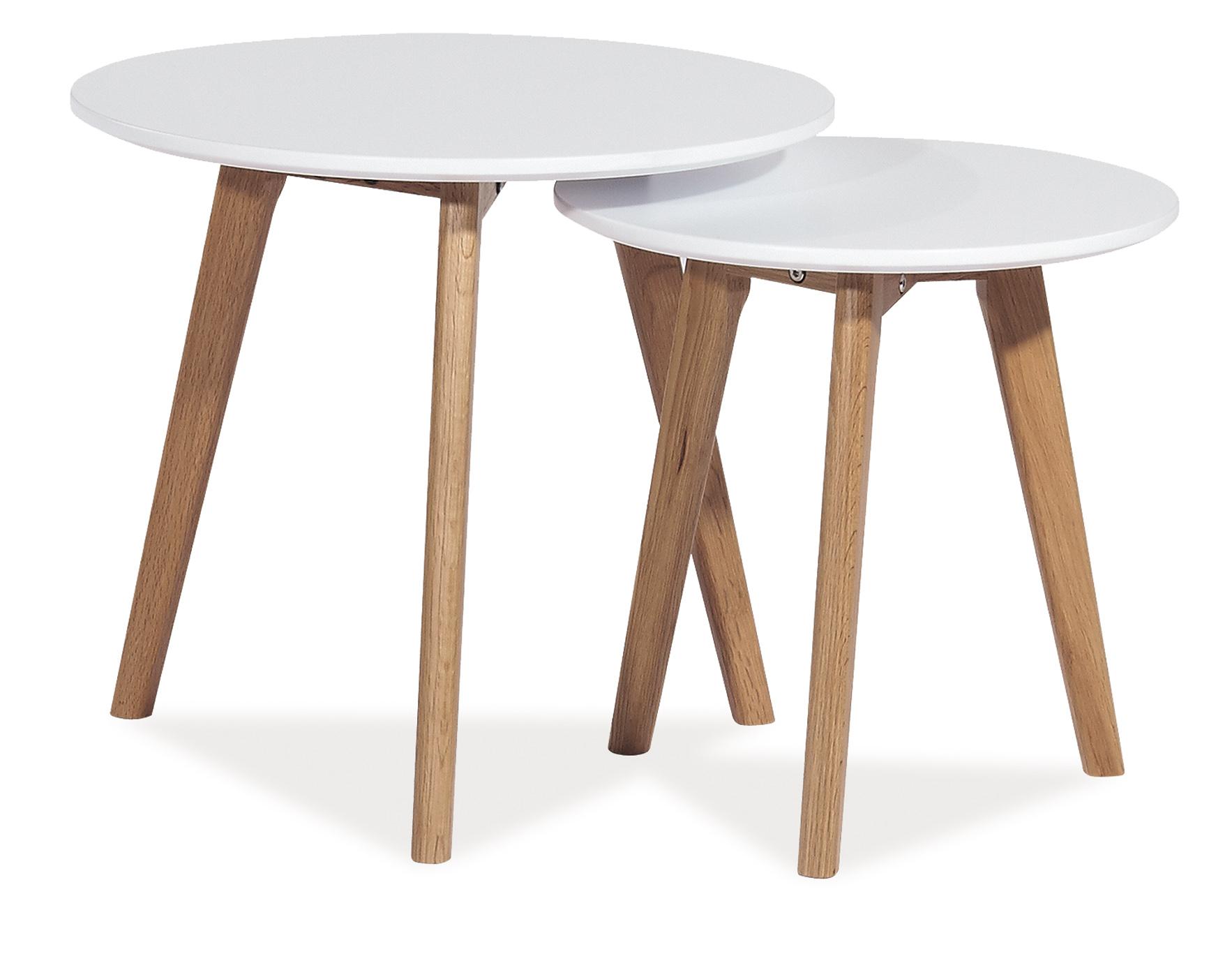 Barový stůl - Signal - Milan S2 (bílá)