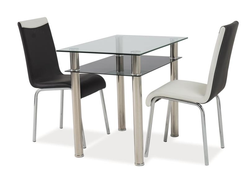 Jídelní stůl - Signal - Madras 90x60 (chróm) (pro 4 osoby)