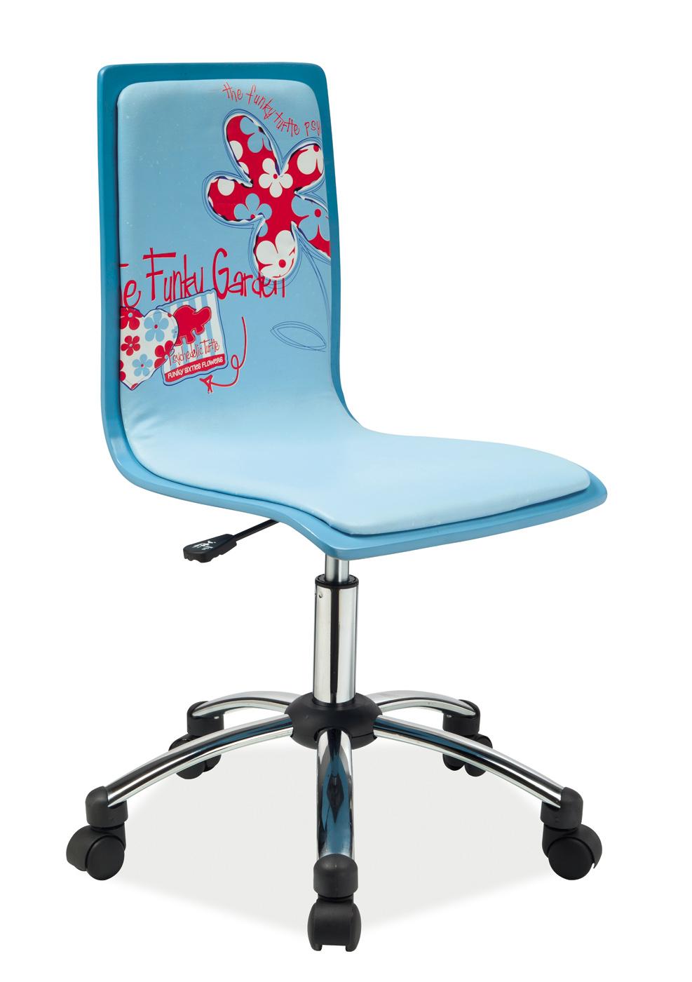 Kancelářské křeslo - Signal - Joy (modrá)