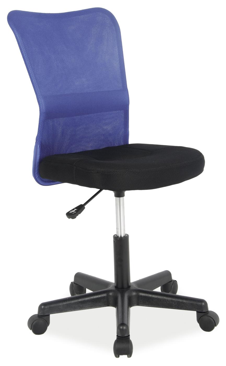 Kancelářské křeslo - Signal - Q-121 (modrá + černá)