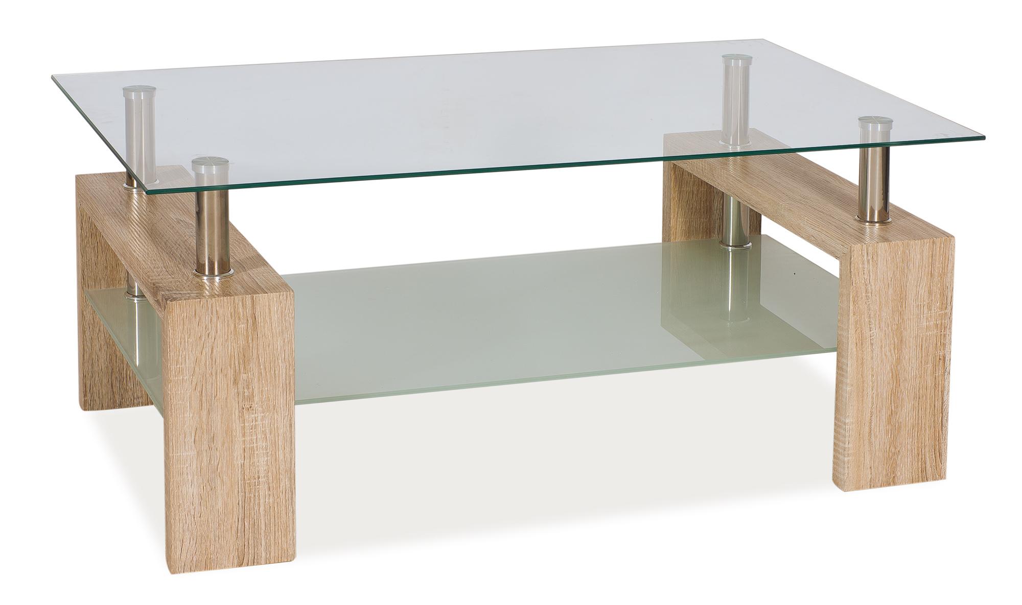 Konferenční stolek - Signal - Lisa II (dub san remo)