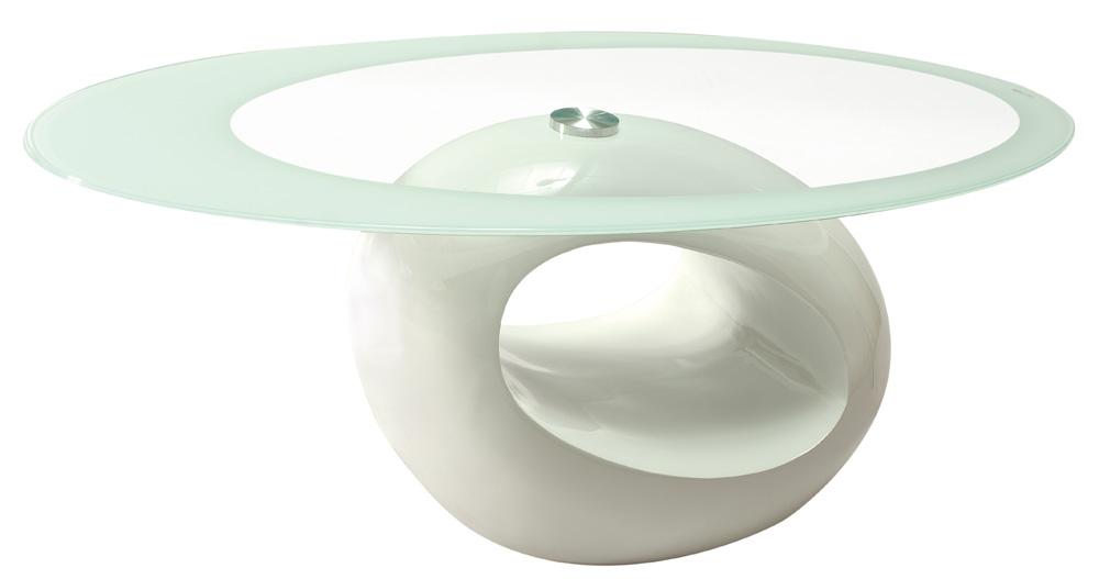 Konferenční stolek - Signal - Etna bílý