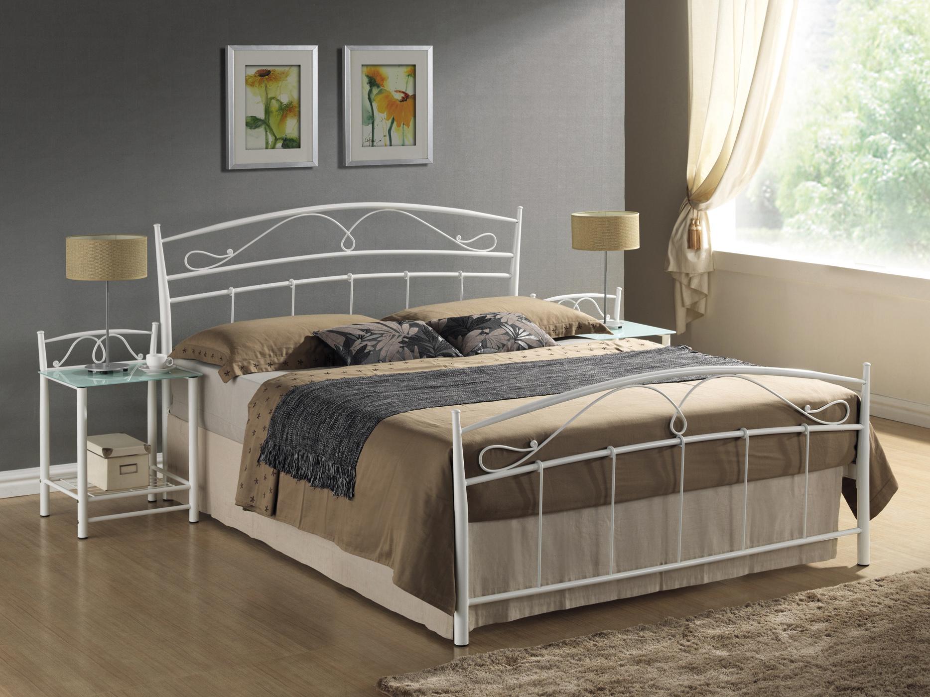 Jednolůžková postel 120 cm - Signal - Siena (s roštem)