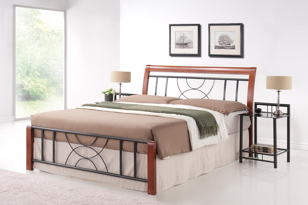 Manželská postel 180 cm - Signal - Cortina B (s roštem)
