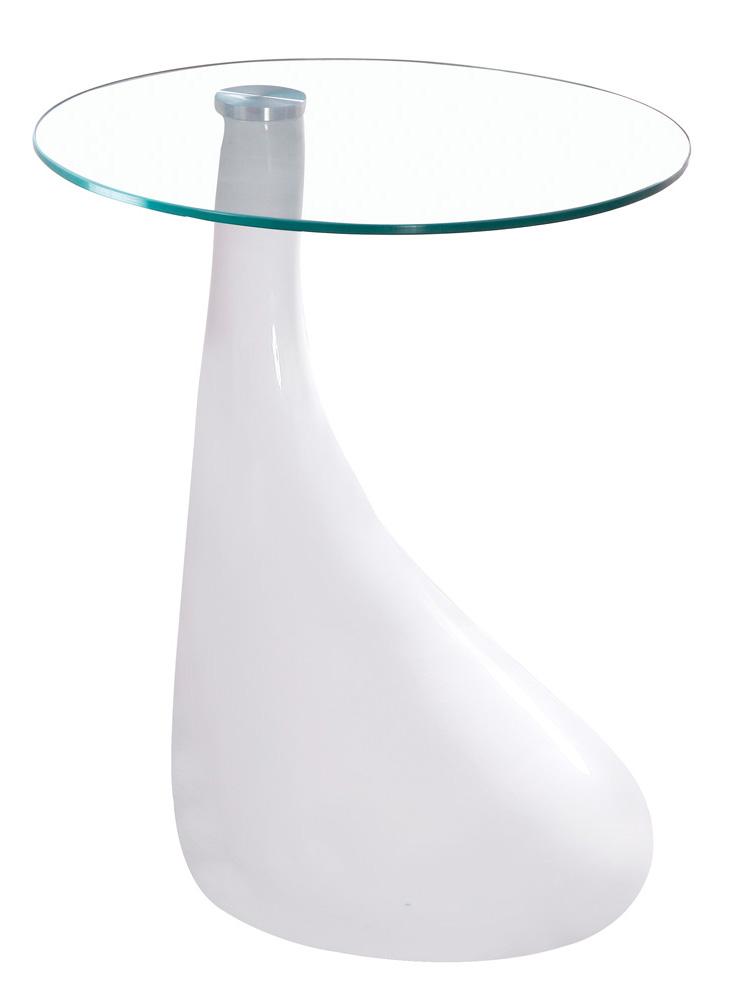 Příruční stolek - Signal - Lula bílý