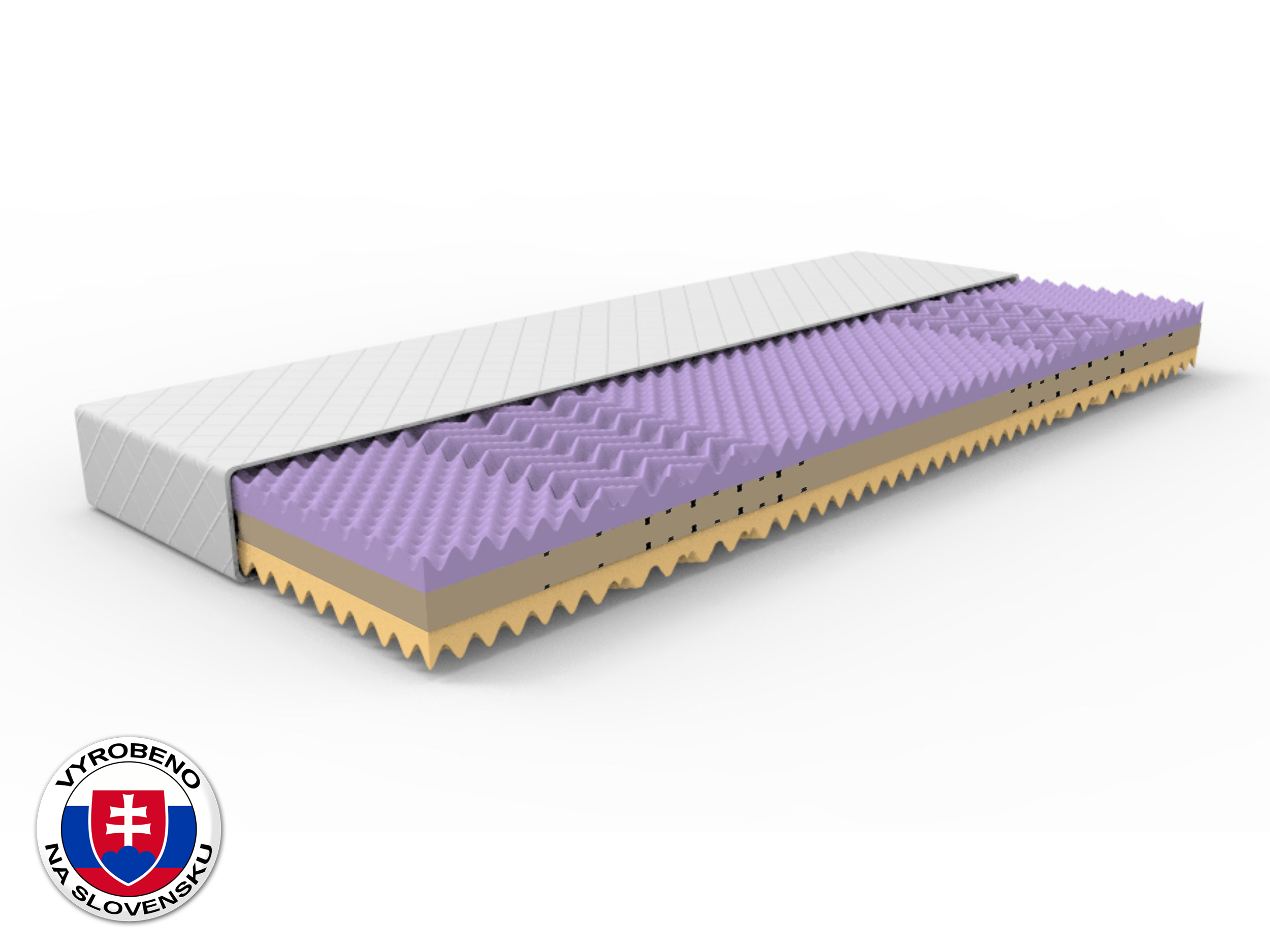 Pěnová matrace - Styler - Lina - 200x80 cm (T3/T4)