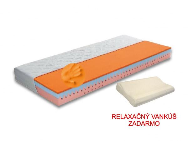 Pěnová matrace - Styler - Dream Lux - 200x80 cm (T3) *polštář ZDARMA