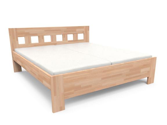 Manželská postel 180 cm - Styler - Jana Senior