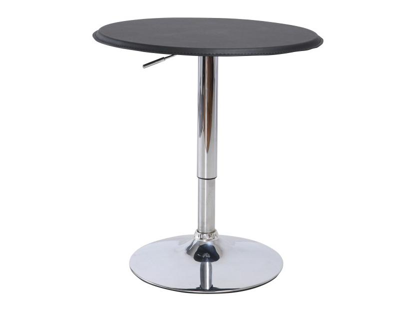 Barový stůl - Tempo Kondela - Brany (černá + chrom)