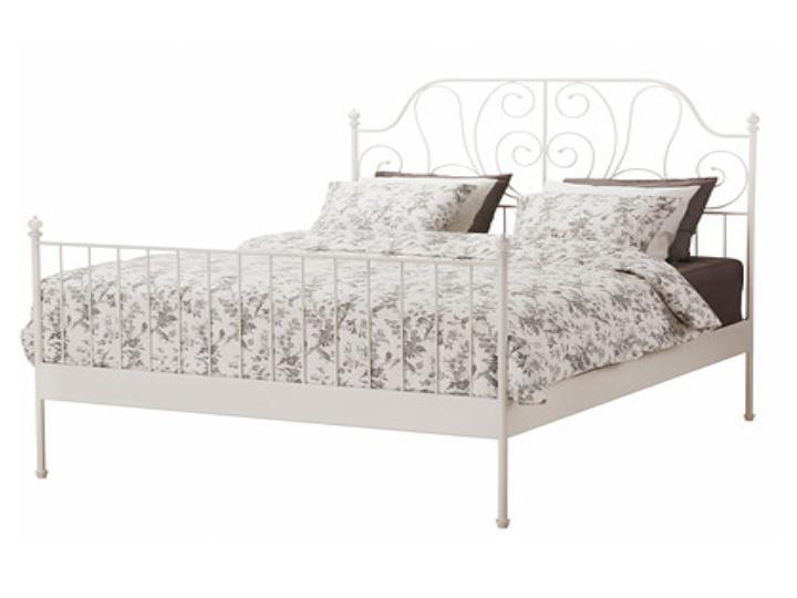 Manželská postel 140 cm - Tempo Kondela - Behemoth (s roštem)