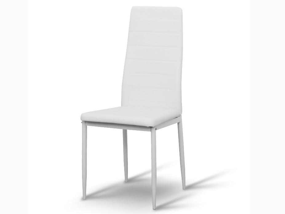 Jídelní židle - Tempo Kondela - Coleta nova (bílá ekokůže)