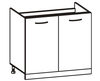 Spodní kuchyňská skříňka - Tempo Kondela - Cyra New - DZ-80