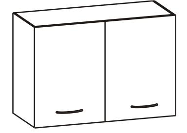 Horní kuchyňská skříňka - Tempo Kondela - Cyra New - G-80