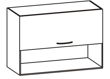 Horní kuchyňská skříňka - Tempo Kondela - Cyra New - G-80 O
