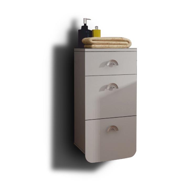 Koupelnová skříňka na stěnu - Tempo Kondela - Dominika - 35RO TR12