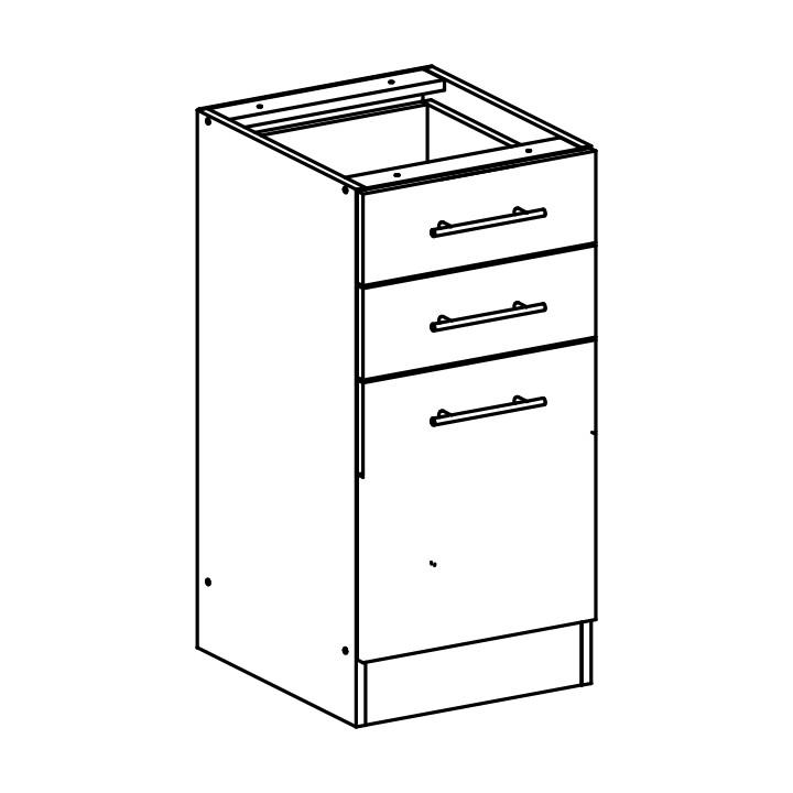 Dolní kuchyňská skříňka - Tempo Kondela - Fabiana - S-40 SZ2