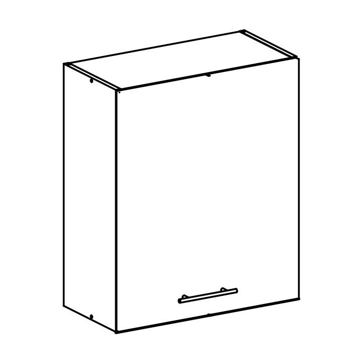 Horní kuchyňská skříňka - Tempo Kondela - Fabiana - W-60