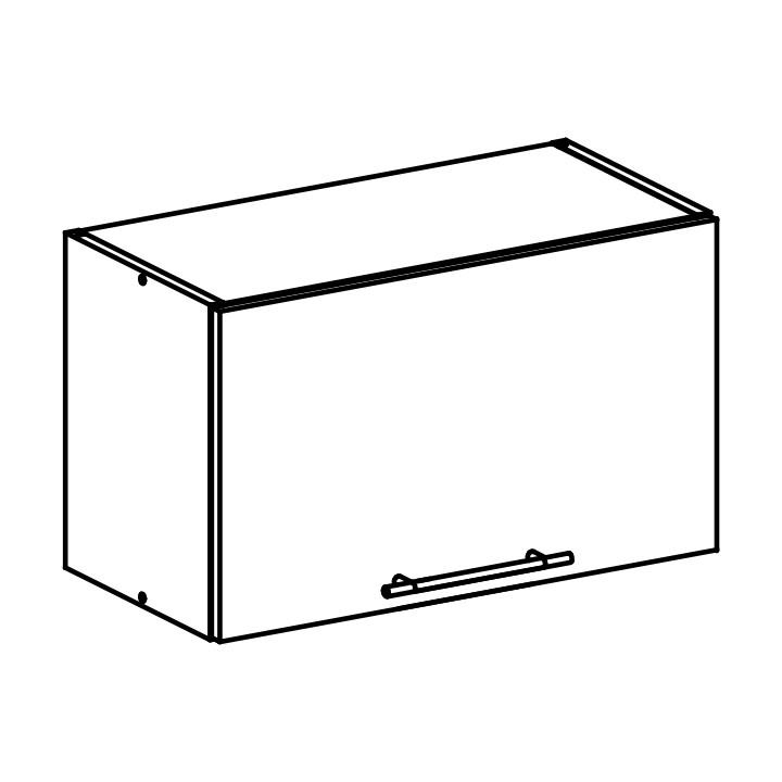 Horní kuchyňská skříňka nad digestoř - Tempo Kondela - Fabiana - W-60OK