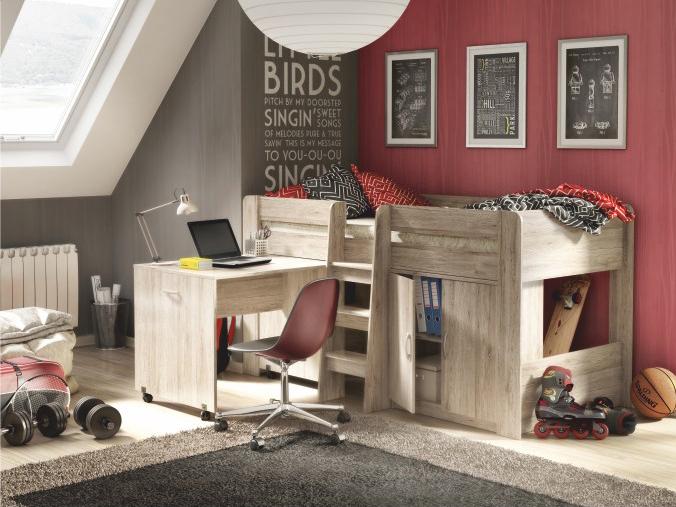 Dětská kombinovaná postel 90 cm - Tempo Kondela - Fany