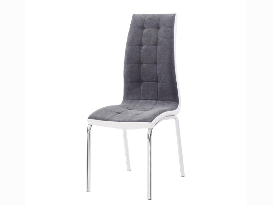 Jídelní židle - Tempo Kondela - Gerda new (tmavě šedá + bílá)
