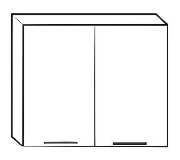 Horní kuchyňská skříňka - Tempo Kondela - Irys New - G-80