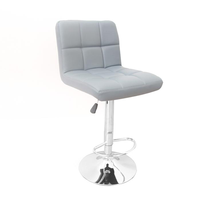 Barová židle - Tempo Kondela - Kandy (šedá + chrom)