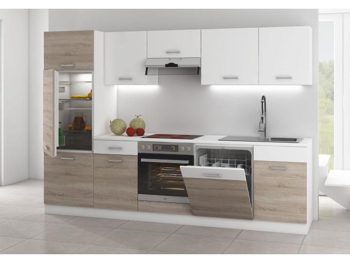 Kuchyň - Tempo Kondela - Lampur 280 cm