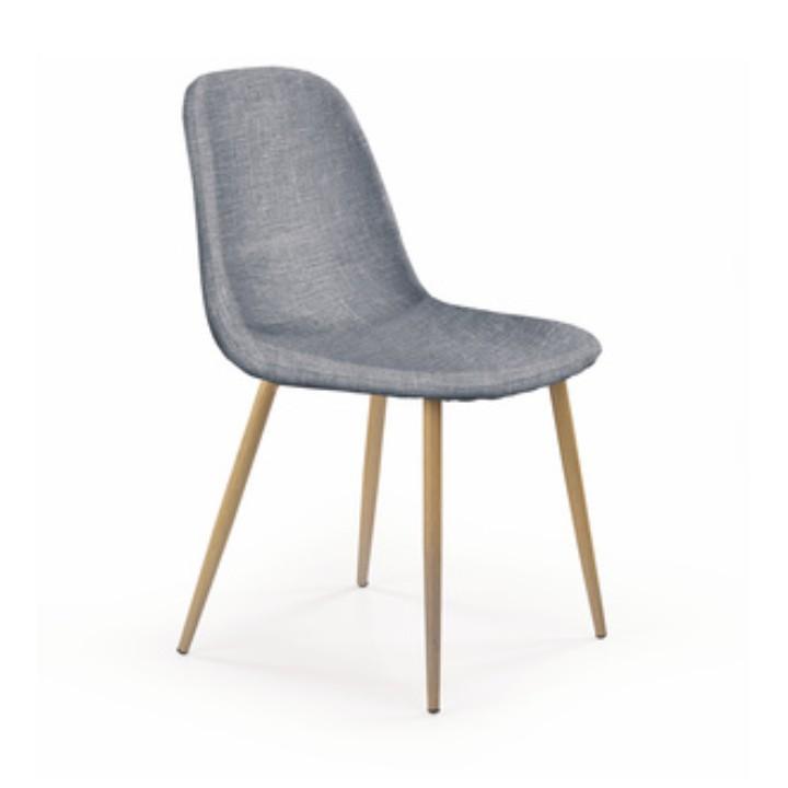 Jídelní židle - Tempo Kondela - Lega (světlešedá)