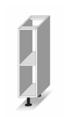 Dolní kuchyňská skříňka - Tempo Kondela - Line - D 20 otv