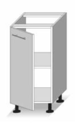Dolní kuchyňská skříňka - Tempo Kondela - Line - D 40
