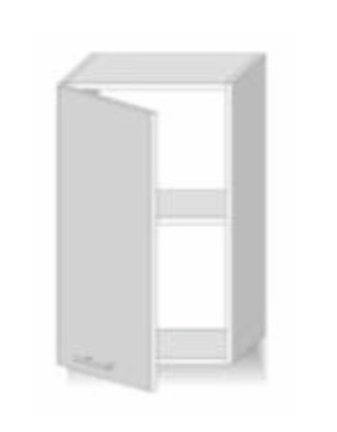 Horní kuchyňská skříňka - Tempo Kondela - Line - G 40