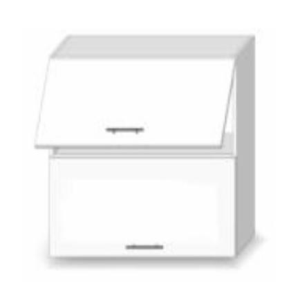 Horní kuchyňská skříňka - Tempo Kondela - Line - G 60 U