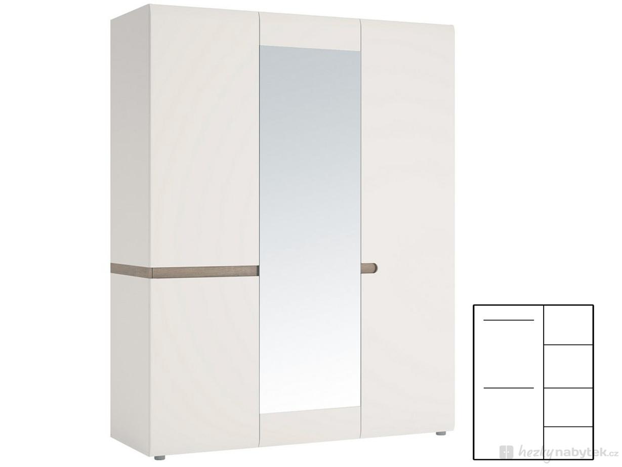 Šatní skříň - Tempo Kondela - Lynatet - Typ 22